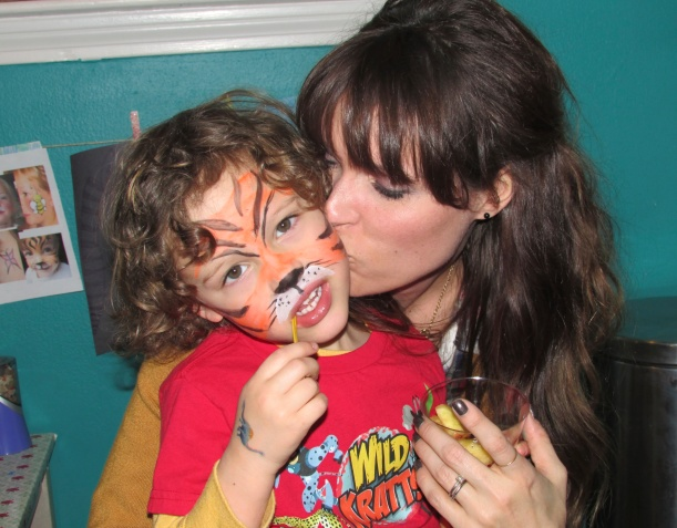 Face Painting - my tiger
